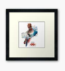 Return To Xander Cage Framed Print