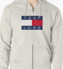 TRAP LORD Zipped Hoodie
