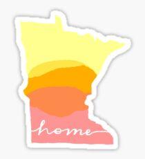 Minnesota State Sticker Sticker