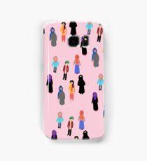 MUSLIM GIRL CROWD Samsung Galaxy Case/Skin