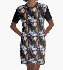 If This is What Earth is Like We're Off! Graphic T-Shirt Dress