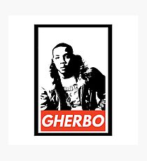 Lil herb Photographic Print