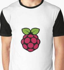 Raspberry Pi Logo Graphic T-Shirt