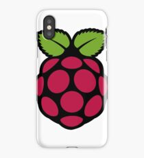 Raspberry Pi Logo iPhone Case/Skin