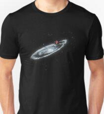 Du bist hier - Milchstraße Slim Fit T-Shirt