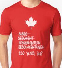 Canada Sesquicentennial (150 Years) Unisex T-Shirt