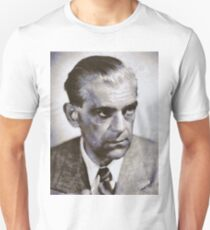 Boris Karloff, Vintage Hollywood Actor Unisex T-Shirt