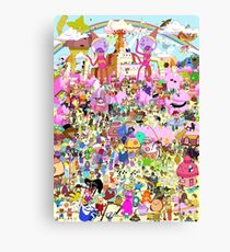 Adventure Time - Where's Finn and Jake Canvas Print