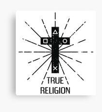 True Religion Canvas Print
