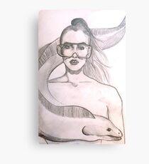 Modern Mermaid  Canvas Print