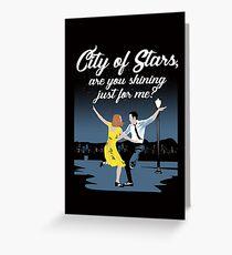 City Of Stars Greeting Card