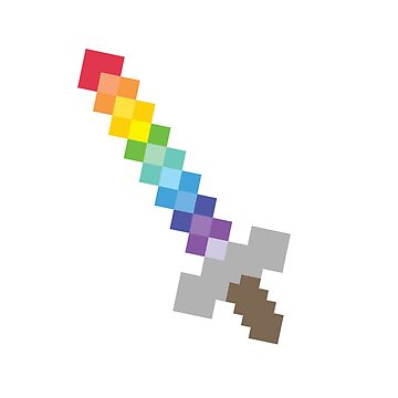 Gay Pixel Sword by cel3stial