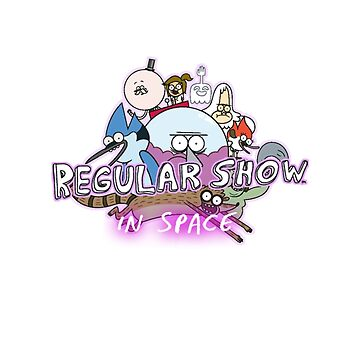 Regular Show In Space by chaotichomo