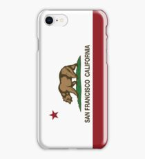 San Francisco California Republic Flag iPhone Case/Skin