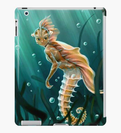 Creature underwater iPad Case/Skin