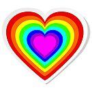 Lbgt rainbow heart by pixxart