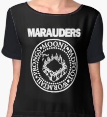 Logo Parody,The Marauders Chiffon Top