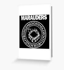 Logo Parody,The Marauders Greeting Card