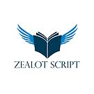 Zealot Script Flying Book with Title by ZealotGroup