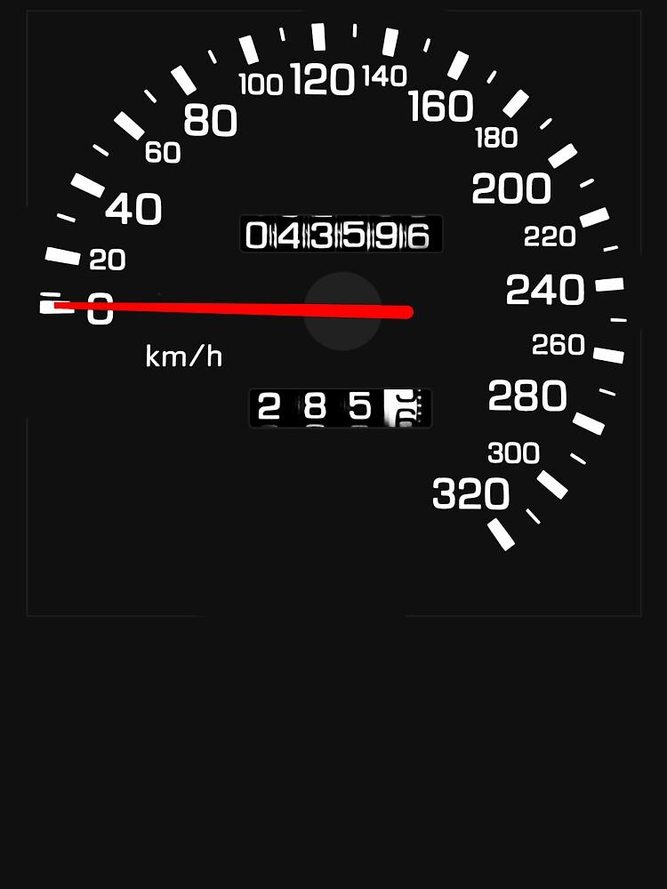 NISSAN スカイライン (NISSAN Skyline) R33 NISMO Speedometer von officialgtrch