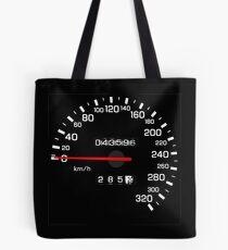 NISSAN N カ ン ン ン (NISSAN Skyline) R33 NISMO Speedometer Tote Bag
