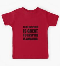 Inspire Is Amazing Kids Clothes