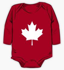 Canada - Maple Leaf One Piece - Long Sleeve