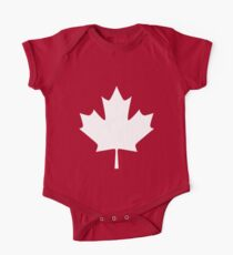 Canada - Maple Leaf One Piece - Short Sleeve