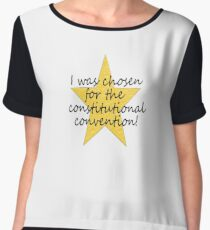 Constitutional Convention Chiffon Top