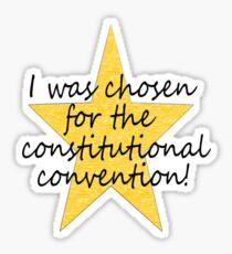 Constitutional Convention Sticker