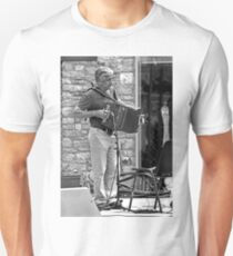 The Accordionist Unisex T-Shirt
