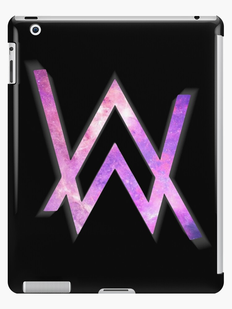 Alan walker logo ipad cases skins by taplome redbubble - Alan walker logo galaxy ...