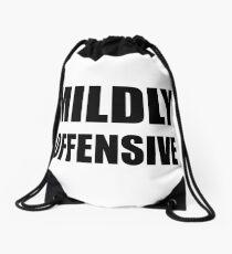 Mildly Offensive Drawstring Bag