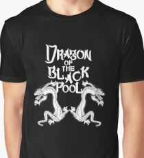 Dragon Of The Black Pool - Light Variant Graphic T-Shirt