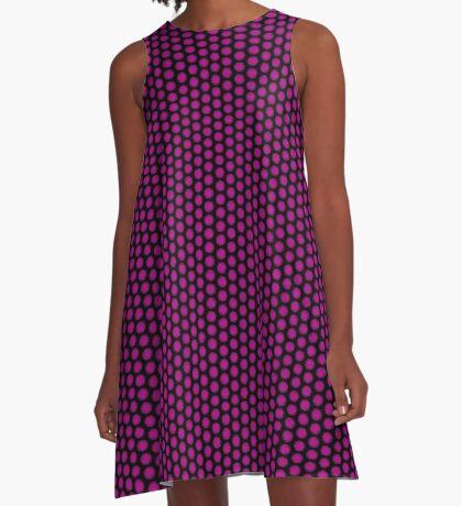 Digital Rose Swirl by Julie Everhart A-Line Dress