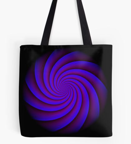 Digital Blue by Julie Everhart Tote Bag
