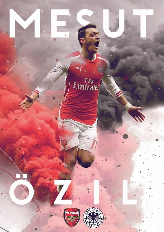 Mesut Ozil Posters Redbubble