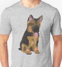 German Shepherd Puppy Unisex T-Shirt