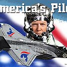 America's Pilot by EyeMagined