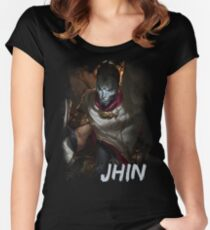 Jhin Women's Fitted Scoop T-Shirt