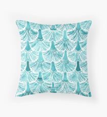 MERMAID TAILS Throw Pillow