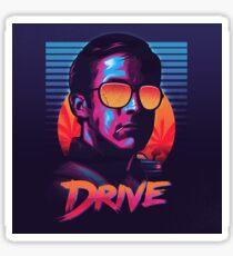Drive Movie Vaporwave Sticker
