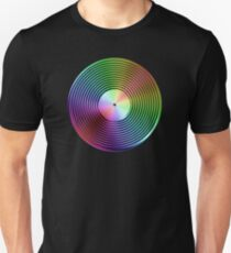 Vinyl LP Record - Metallic - Rainbow T-Shirt
