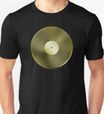 Vinyl LP Record - Metallic - Gold T-Shirt