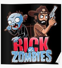 Rick vs Zombies Poster