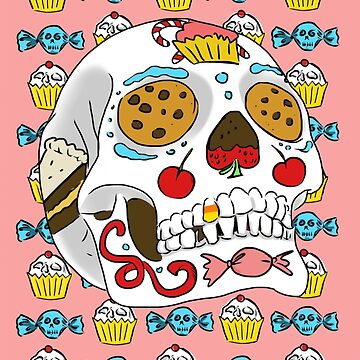 Candy Sugar Skull by Aengel