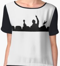 Mystery Science Theater 3000 Chiffon Top