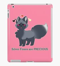 Silver Foxes are PRECIOUS iPad Case/Skin