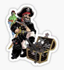 Pirate Jack Sticker