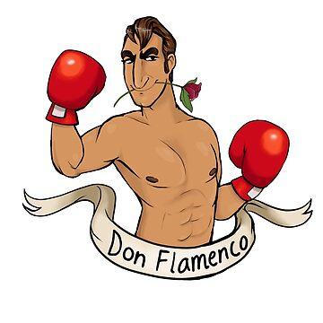 Don Flamenco (transparent version) by RessQ